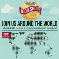 Read more about Krispy Kreme FREE Doughnut Giveaway @ Islandwide 24 Feb 2015