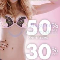 Read more about La Senza 30% to 50% OFF Storewide Promo 18 - 22 Feb 2015