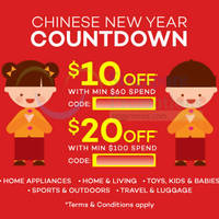 Read more about Lazada $10 to $20 OFF Coupon Codes 14 - 15 Feb 2015