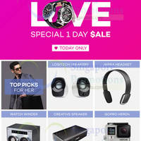 Read more about Lazada Up To 80% Off 1-Day Valentine's Day For Him Sale 9 Feb 2015
