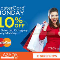 Read more about Lazada 10% Off Lifestyle Categories (NO Min Spend) 1-Day Promo 16 Mar 2015