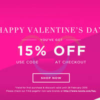 Read more about Luxola 15% OFF Storewide (NO Min Spend) Coupon Code 5 - 28 Feb 2015