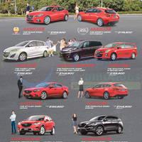 Read more about Mazda 3, Mazda 5, Mazda 6, Mazda 8, Biante, CX-5 & CX-9 Offers 7 Feb 2015