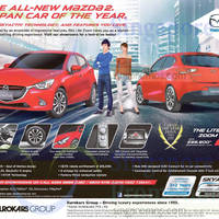 Read more about Mazda 2 The Lite Zoom Offer 7 Feb 2015