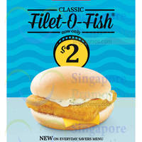 Read more about McDonald's $2 Filet-O-Fish Burger 26 Feb 2015