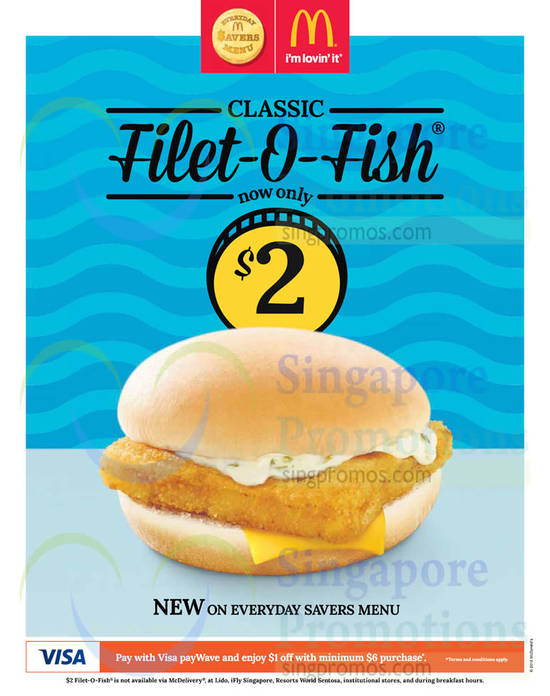 Mcdonald s 2 filet o fish burger 26 feb 2015 for Mcdonalds fish fillet deal