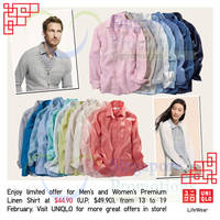 Read more about Uniqlo Islandwide Limited Offers 13 - 19 Feb 2015