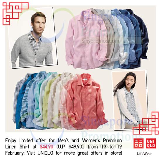 Mens n Womens Premium Linen Shirt