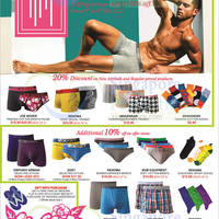 Read more about Metro 20% Off Joe Boxer, Renoma, Skinxwear, Emporio Armani & More 6 - 8 Feb 2015