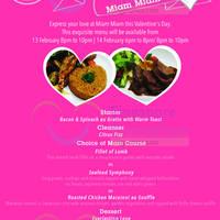 Read more about Miam Miam Valentine's Day Dinner 13 - 14 Feb 2015