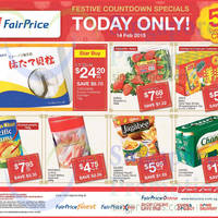 Read more about NTUC Fairprice Golden Chef Pacific Clams, Fukuyama Frozen Hokkaido Scallops & More 1-Day Specials 14 Feb 2015