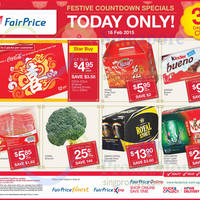 Read more about NTUC Fairprice Coca-Cola, Kinder Bueno & More 1-Day Specials 16 Feb 2015