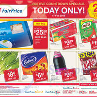 Read more about NTUC Fairprice Milo, Kit Kat, Pakistan Kinnow Mandarin, Cadbury & More 1-Day Specials 17 Feb 2015