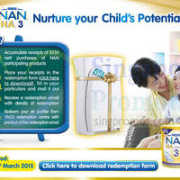 Read more about Nestle Nan Milk Powder Spend $350 & Get Free 3M Air Purifier 1 - 31 Mar 2015