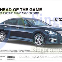 Read more about Nissan Teana Offer 21 Feb 2015