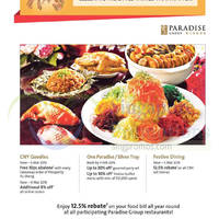 Paradise Group Dining Deals For OCBC Cardmembers 1 Feb - 5 Mar 2015