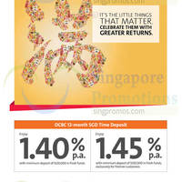 Read more about OCBC Up To 1.4% p.a. 12-mth Time Deposits Promo 2 Feb 2015