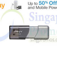 Read more about PNY Up To 50% Off SSDs, USB Flash Memory & Power Banks 24hr Promo 16 - 17 Feb 2015