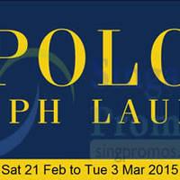 Read more about Polo Ralph Lauren Event @ Takashimaya 21 Feb - 3 Mar 2015