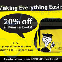 Read more about Popular 20% Off Dummies Series Books Promotion 6 - 28 Feb 2015