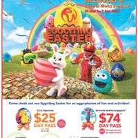 Read more about Resorts World Sentosa Eggciting Easter Promotions & Events 14 Mar - 5 Apr 2015