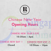 Read more about Robinsons Chinese New Year Opening Hours 18 - 20 Feb 2015