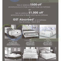Read more about Robinsons GST Absorbed Mattresses Offers 27 Feb - 1 Mar 2015