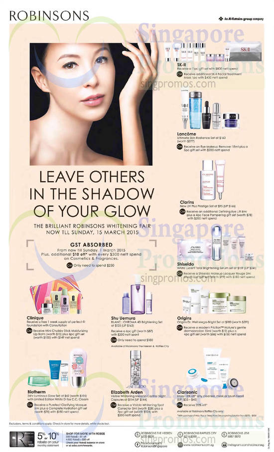 Robinsons Beauty Care 26 Feb 2015