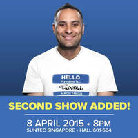 Read more about Russell Peters World Tour 2nd 8 April Show Ticketing Opens 3 Feb 2015
