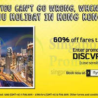 Read more about Scoot 60% Off Hong Kong Fares Promo Code 11 - 12 Feb 2015
