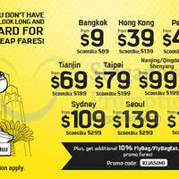 Read more about Scoot From $9 2hr Promo Air Fares (7am - 9am) 17 Feb 2015