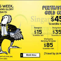 Read more about Scoot From $15 2hr Promo Air Fares (7am - 9am) 24 Feb 2015