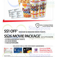 Read more about Shaw Theatres Privileges For OCBC Cardmembers 24 Feb 2015 - 31 Jan 2016