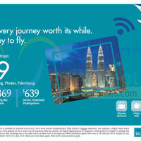 Read more about SilkAir From $259 Promo Fares 12 - 28 Feb 2015