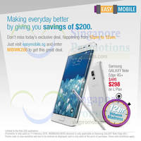 Read more about Singtel Samsung GALAXY Note Edge $200 Off 1-Day Online Promo 11 Feb 2015