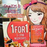Read more about Sogurt Buy 1 Get 1 FREE Promo (Weekdays) @ Suntec & One KM 3 Feb 2015