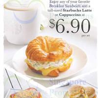 Read more about Starbucks $6.90 Sandwich & Latte / Cappuccino Breakfast Promo 2 - 28 Feb 2015