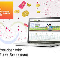 Read more about Starhub $39.90 200Mbps Fibre Broadband Free $50 Voucher Promo 1 - 4 Feb 2015