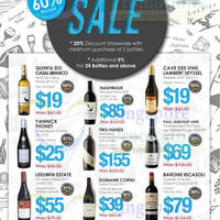 Straits Wine Company Storewide Sale 30 Jan - 8 Feb 2015
