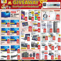 Gain City Electronics, TVs, Washers, Digital Cameras & Other Offers 31 Jan 2015