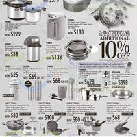Read more about Takashimaya Tiger Japan & Happycall Kitchenware Offers 30 Jan - 10 Feb 2015