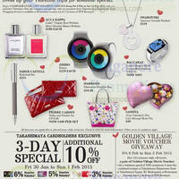 Takashimaya Valentine's Day Promotions & Gift Ideas 30 Jan - 14 Feb 2015