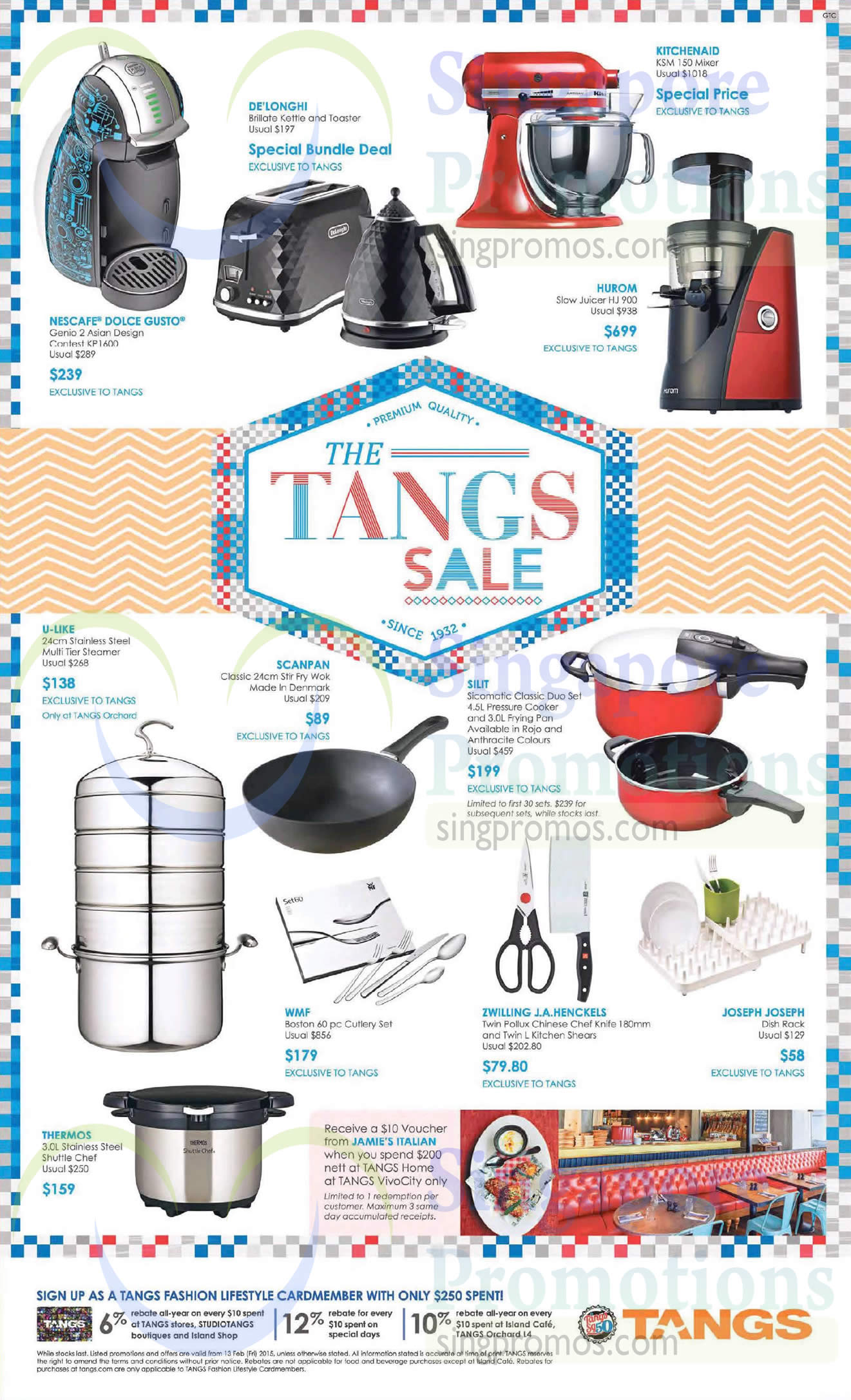 Hurom Slow Juicer Ck Tang : Tangs Kitchenware & Kitchen Electronics Offers 13 Feb 2015