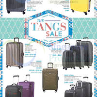 Read more about Tangs Luggages Spinners & Trolley Cases Offers 27 Feb 2015