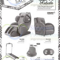 Read more about Osim Massagers & Exercise Equipments Offers @ Tangs 5 - 6 Feb 2015
