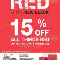 Read more about The North Face Up To 40% Off Promotion 6 - 22 Feb 2015