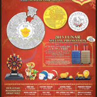 The Singapore Mint Lunar Retail Roadshows 1 - 17 Feb 2015