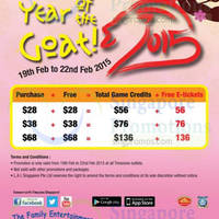 Read more about Timezone 100% Extra Double Dollar Promo 19 - 22 Feb 2015