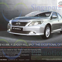 Read more about Toyota Camry Offer 28 Feb 2015