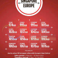 Read more about Turkish Airlines Europe Promo Fares 1 Feb - 31 Mar 2015